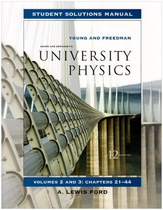 University Physics: Student Solutions Manual: Vol 2