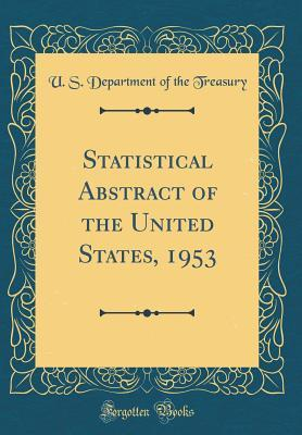 Statistical Abstract of the United States, 1953
