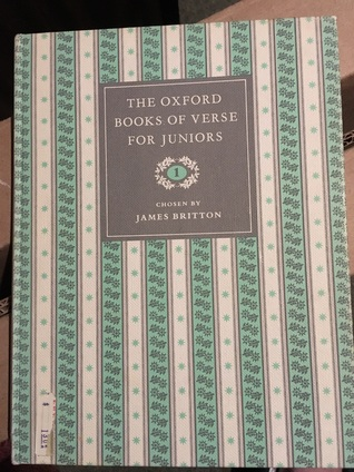 The Oxford Books of Verse for Juniors 1