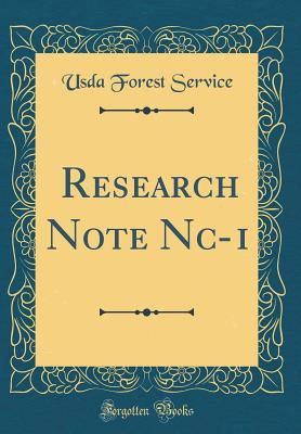 Research Note Nc-1