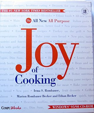 JOY OF COOKING, The New All Purpose, Joy of Cooking. Windows 95/98 CD-ROM