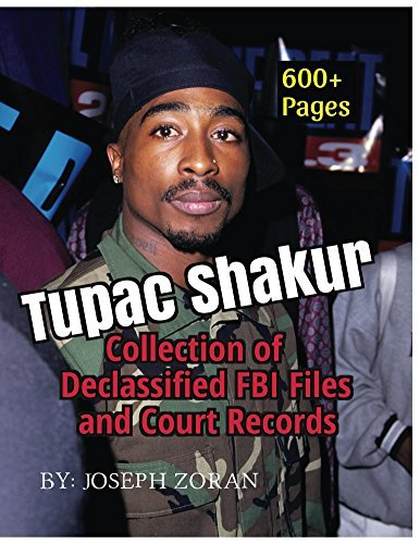 Tupac Shakur - Collection of Declassified FBI Files And Court Records