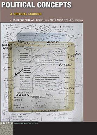 Political Concepts: A Critical Lexicon
