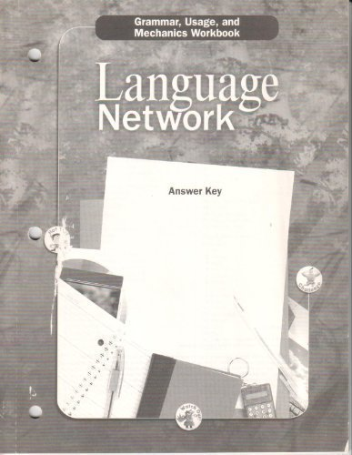 Language Network: Grammar, Usage, and Mechanics Workbook, Answer Key, Grade 2