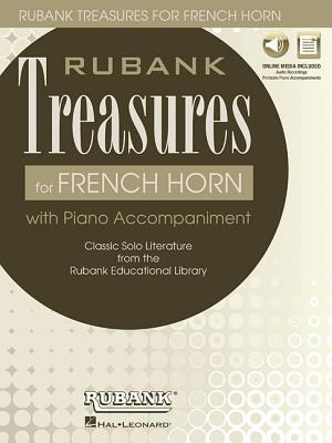 Rubank Treasures for French Horn: Book with Online Audio
