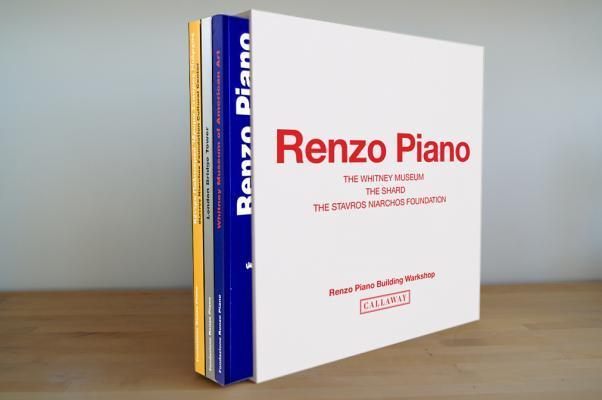Renzo Piano Box I: The Whitney Museum, New York; The Shard, London; The Stravos Niarchos Foundation, Athens