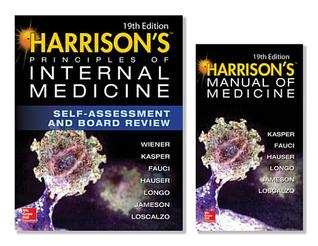 Harrison's Principles of Internal Medicine Self-Assessment and Board Review, 19th Edition and Harrison's Manual of Medicine 19th Edition (eBook) Val Pak