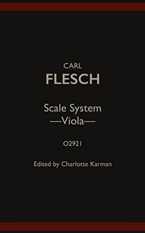 O2921 - Scale System - Viola - Carl Flesch