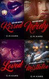 Never Been series (books 1 to 4)