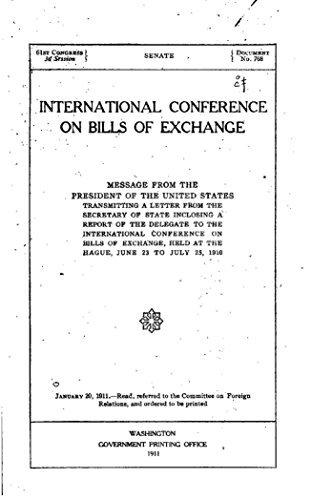International Conference on Bills of Exchange - 1910