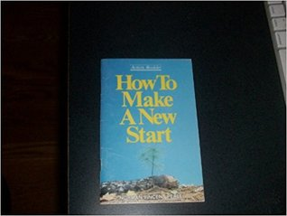 How to make a new start (Action booklet)