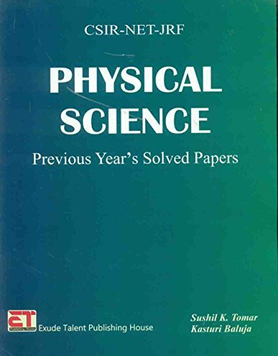 CSIR-NET-JRF Physical Science Previous Year's Solved Papers