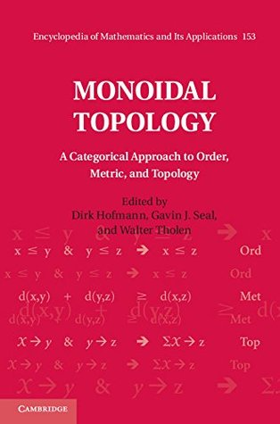 Monoidal Topology: A Categorical Approach to Order, Metric and Topology