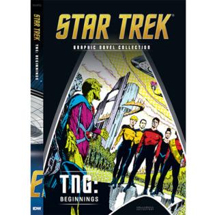 TNG: Beginnings (Star Trek The Graphic Novel Collection, # 27)