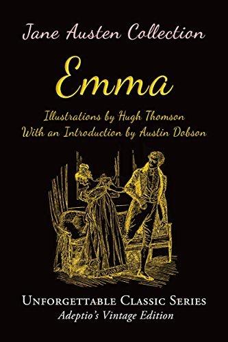 Jane Austen Collection - Emma (Illustrated) (Unforgettable Classic Series)