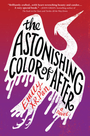Cover art for the book entitled The Astonishing Color of After