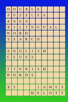Double Puzzles #009 - Bilingual Word Search - English Clues - Finnish Words