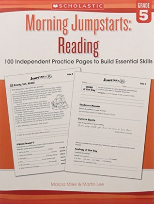 Morning Jumpstarts: Reading Grade 5 [Paperback] [Jan 01, 2017] R.L.STINE