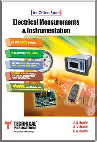 Electrical Measurements & Instrumentation for SPPU ( S.E.Sem-I Electrical Course 2015 )For Offline Exam