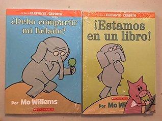 Un libro de ELEFANTE y CERDITA : 2 book set