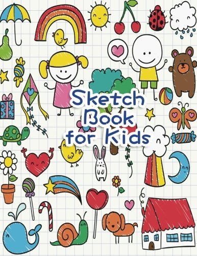 """Sketch Book for Kids: Blank Paper for Drawing, Doodling or Sketching - 100+ Large Blank Pages (8.5""""x11"""") for Sketching, Drawing Anything Kids Like and Improving Drawing Skills (Volume 2)"""