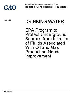 Drinking Water: EPA Program to Protect Underground Sources from Injection of Fluids from Oil and Gas Production Needs Improvement