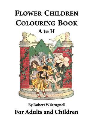 Flower Children Colouring Book