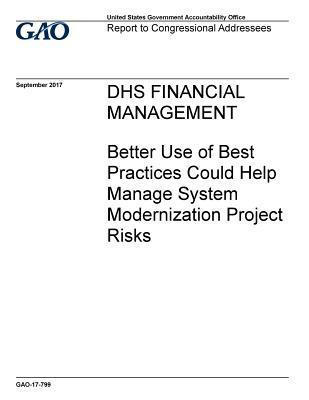 Dhs Financial Management: Better Use of Best Practices Could Help Manage System Modernization Project Risks