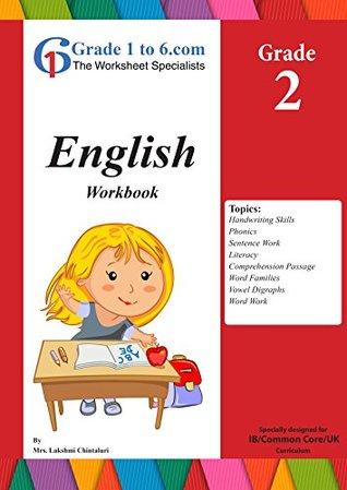 English Language Arts, Grade 2 from www.Grade1to6.com Books: Workbook