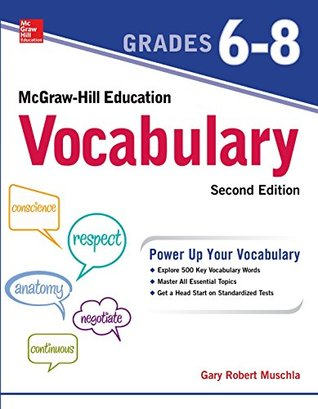 McGraw-Hill Education Mastering Vocabulary Grades 6-8, Second Edition