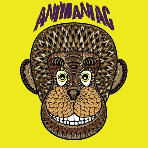 Animaniac Animal Adult Coloring Book: 50 Fun & Detailed Animal Pictures to Color