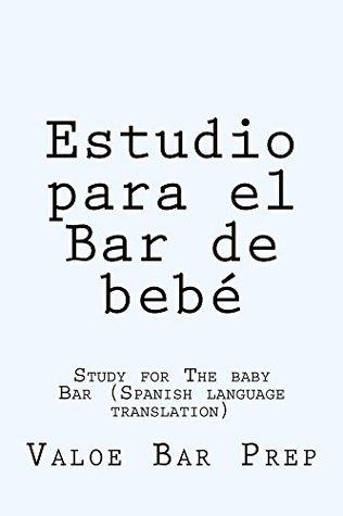 Estudio para el Bar de bebe (Free Reading Allowed For Prime Members): (e book)