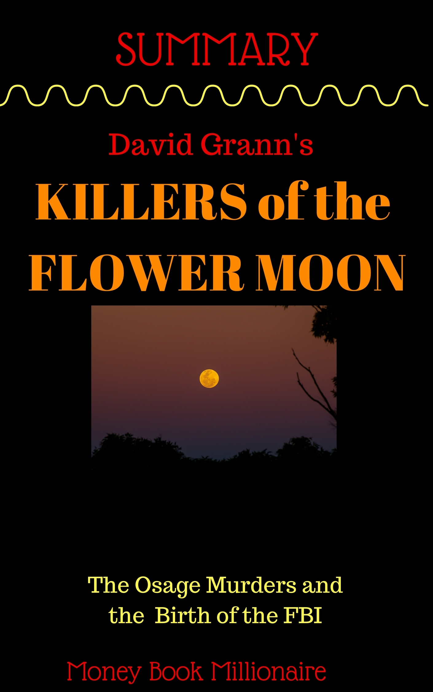 Summary: Killers of the Flower Moon: The Osage Murders and the Birth of the FBI BY DAVID GRANN