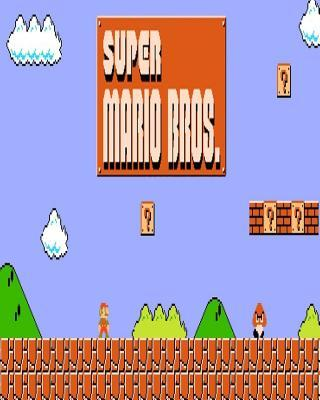 Super Mario Bros: Notebook, Blank Book, Journal, Diary, Workbook