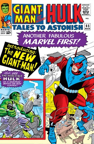 Giant-Man & Wasp: Tales to Astonish, volume 1 #65
