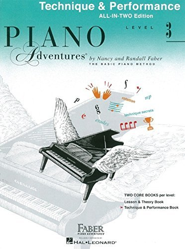 Faber Piano Adventures: Level 3 - Technique & Performance (Book/CD)