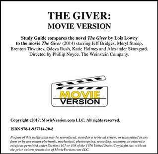 The Giver: Movie Version