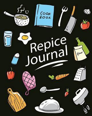 Recipe Book: (Recipe Book Vol. A08) Glossy Cover, (Size 8 X 10) Blank Cookbook to Write In, Paperback (Blank Cookbooks and Recipe Books), 100 Spacious Record.