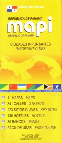 Panama's Important Cities by Mapi Panama
