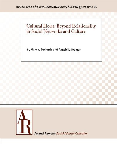 Cultural Holes: Beyond Relationality in Social Networks and Culture (Annual Review of Sociology Book 36)