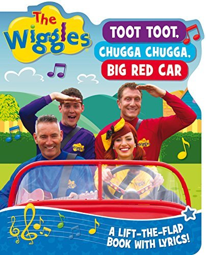 Wiggles Lift The Flap Big Red Car