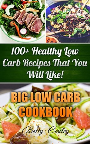 Big Low Carb Cookbook: 100+ Healthy Low Carb Recipes That You Will Like!