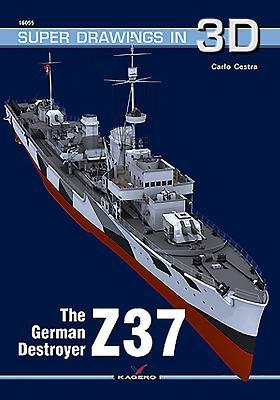 The German Destroyer Z37 par Carlo Cestra
