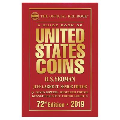 2019 Official Red Book of United States Coins - Hardcover: The Official Red Book