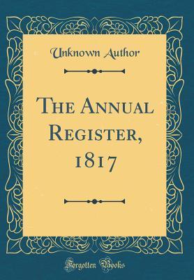 Livre En Anglais Pdf Download The Annual Register 1817