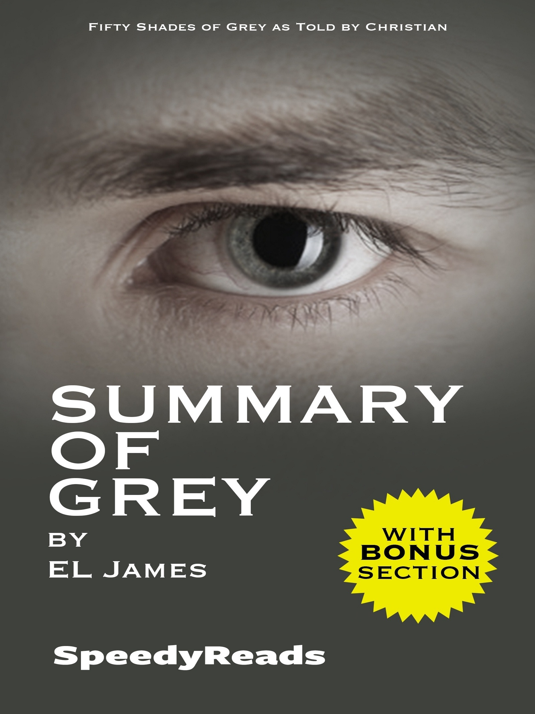 Summary of Grey: Fifty Shades of Grey as Told by Christian