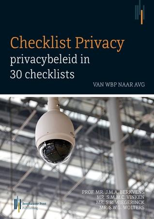 Checklist privacy, privacybeleid in 30 checklists por Prof. mr. J.M.A. Berkvens EPUB TORRENT -