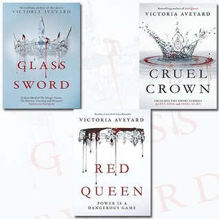Red Queen Collection 3 Books Bundle with Gift Journal