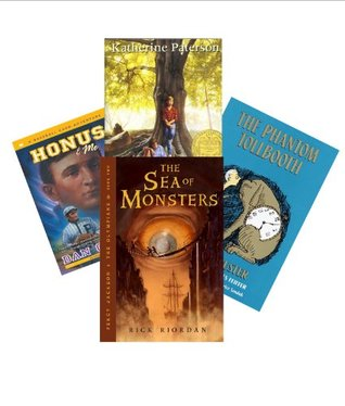 Classroom Library Middle School: The Bridge to Terabithia; Time Cat; the Sixth Grade; the Phantom Tollbooth; Percy Jackson & the Olympians; the Fear Place; Anastasia Krupnik;