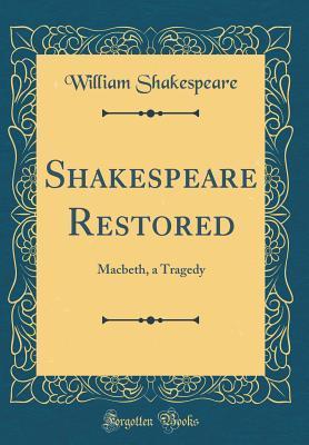 Macbeth, a Tragedy